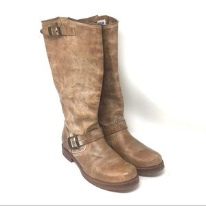 Frye Leather Tall Boots 8 /iq